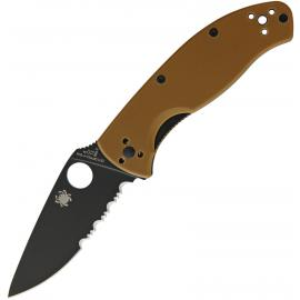 Tenacious Brown G10 Blk Serr