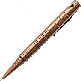 Penna Tattica Schrade Survival Tactical Pen brown
