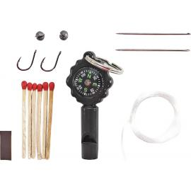 Survival Kit Whistle/Compass