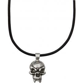 Collana Schmuckatelli Co Fang Skull Pendant Necklace