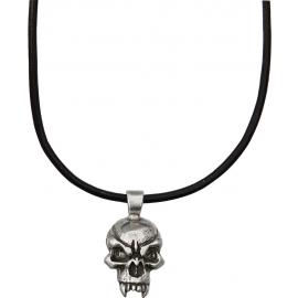 Fang Skull Pendant Necklace