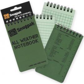 Block Notes Tattico Snugpak All Weather Notebook Olive II