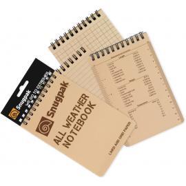 Block Notes Tattico Snugpak All Weather Notebook Tan II