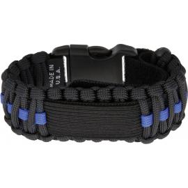 Para Cord Watch Band Blue Line