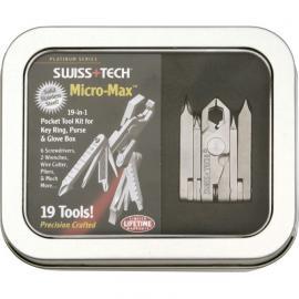Multiuso Swiss Tech Micro Max 19-in-1 Pocket Tool Kit Keyrings