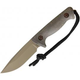 Treeman Combat Knives RECON HUNTER CY+GN+LEATHER Recon Hunter Coyote
