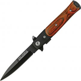 Coltello Tac Force Lil' Milano A/O Liner lock brown