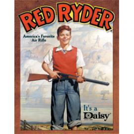 Poster di latta Tin Sign Daisy Red Ryder