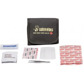 12 Survivors TS42003B Mini Medic First Aid Kit
