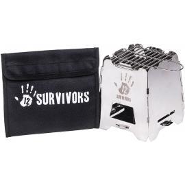 12 Survivors TS74000 Stufa di sopravvivenza Off-Grid