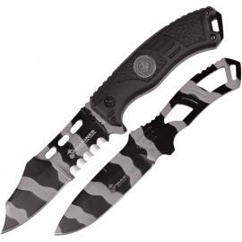 Coltelli USMC The Grunt Fixed Blade Set urban camo