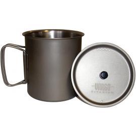 Boccale bollitore con coperchio Vargo Outdoors Ti-Lite Mug tazza per sopravvivenza