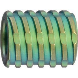 Verde di titanio di perline