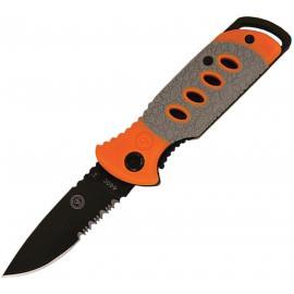 Coltello di sopravvivenza Ultimate Survival Sabercut 2.5 gray and orange
