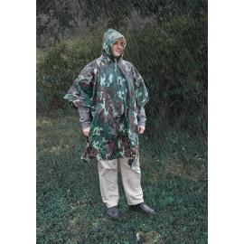 All Weather Adult Poncho Camo