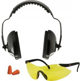 Kit per poligono cuffie occhiali tappi Walkers Sport Combo