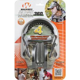 Cuffie per poligono Walkers Game Ear Alpha 360