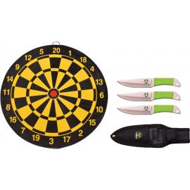 Three Piece Throwing Knife Set