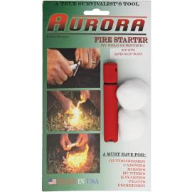 Acciarino Aurora Fire Starter 2SA Red