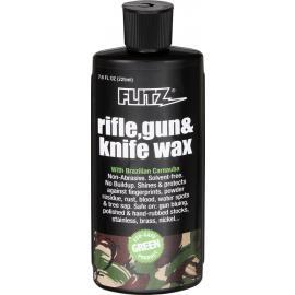 Bottiglia di liquido per lucidare il metallo Flitz Rifle/Gun/Knife Wax