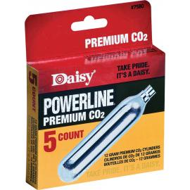 Powerline CO2 Cartridge 5ct