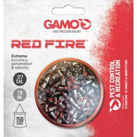 Pellet di fuoco rosso .177 150ct