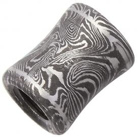 Fingerbone Damascus Bead