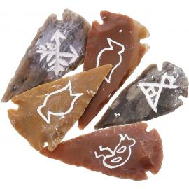 Arrowhead Pictograph Set di 4