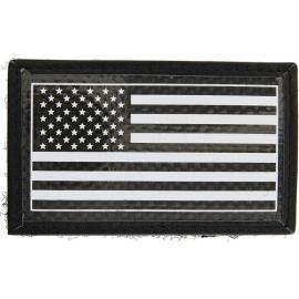 Carbon Fiber Patch USA Flag