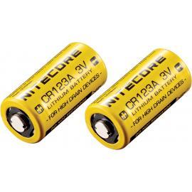 Batteria al litio CR123 da 2 pezzi