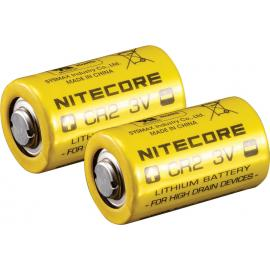 Batteria al litio CR2 da 2 pezzi
