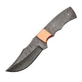 Clip Point Blade Damasco