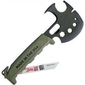 Off Grid Survival Axe Green