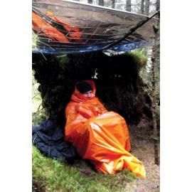 Coperta di sopravvivenza Bushcraft Printed Survival Bag - Orange