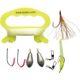 Kit per pesca Bushcraft BCB Liferaft Fishing