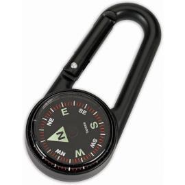 Carabiner Compass Black
