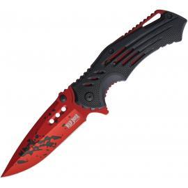 Linerlock Black/Red A/O