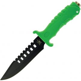 Coltello Frost Cutlery Tac Xtreme Bowie Green