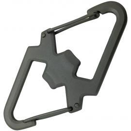 Carabiner With Bottle Opener
