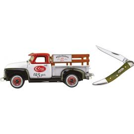 Ertl Truck and Knife Set 125th