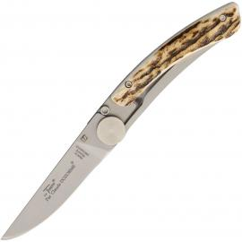 Thiers Linerlock Stag Horn