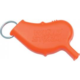All Weather Wind Storm Safety Whistle Orange
