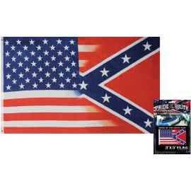 Orgoglio della bandiera del Sud