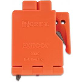 Strumento di sicurezza e soccorso CRKT ExiTool Safety Tool Orange