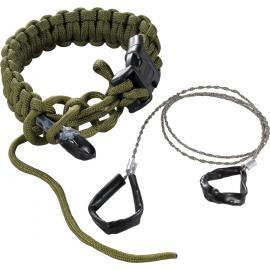 Bracciale di sopravvivenza e filo sega CRKT Onion Para-Saw Bracelet Small