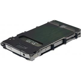 Custodia in acciaio CRKT iNoxCase for iPhone 4 e 4S Nero