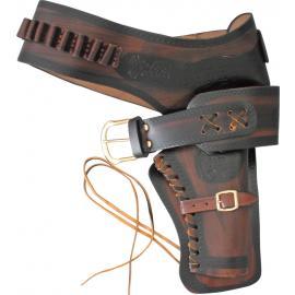 Cinturone western Denix Holster